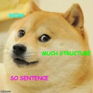 doge - so sentence